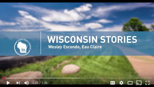 Thumbnail Image For Wisconsin Stories: Wesley Escondo - Click Here To See