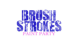 Brush Strokes Paint Party Photo